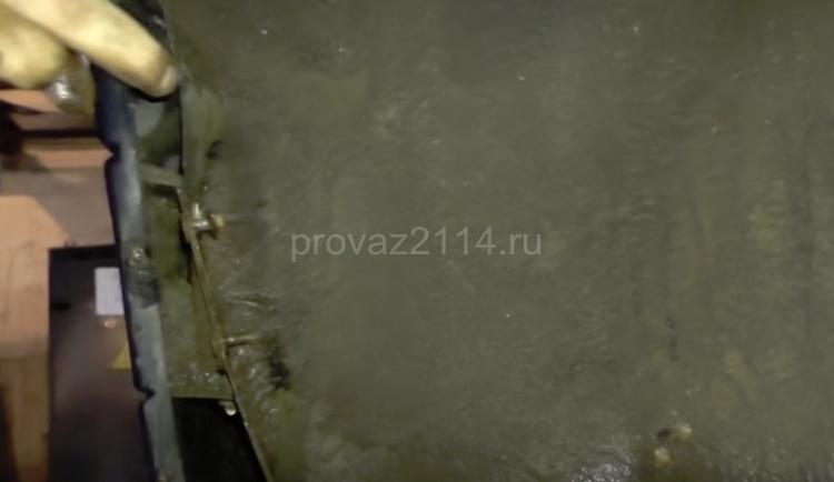 Этапы демонтажа бампера на ваз 2114 3