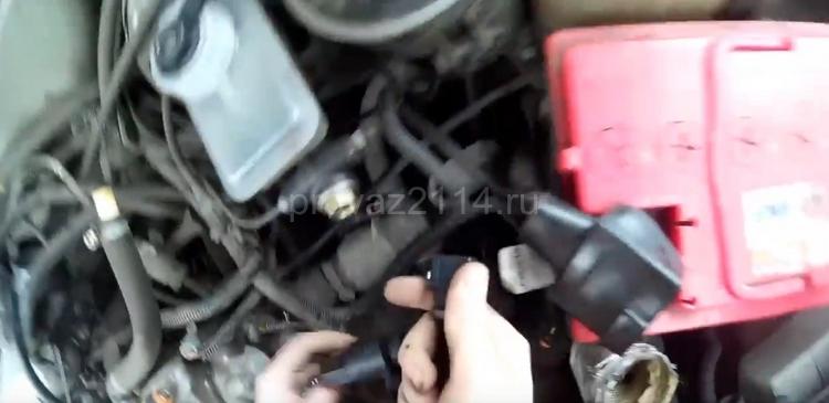 Как снять датчик скорости на ВАЗ 2114 13