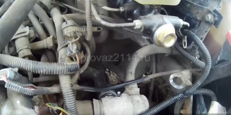 Как снять датчик скорости на ВАЗ 2114 14