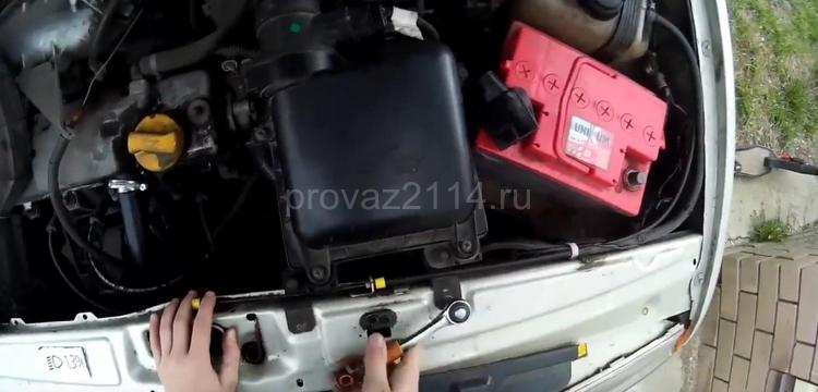 Как снять датчик скорости на ВАЗ 2114 5