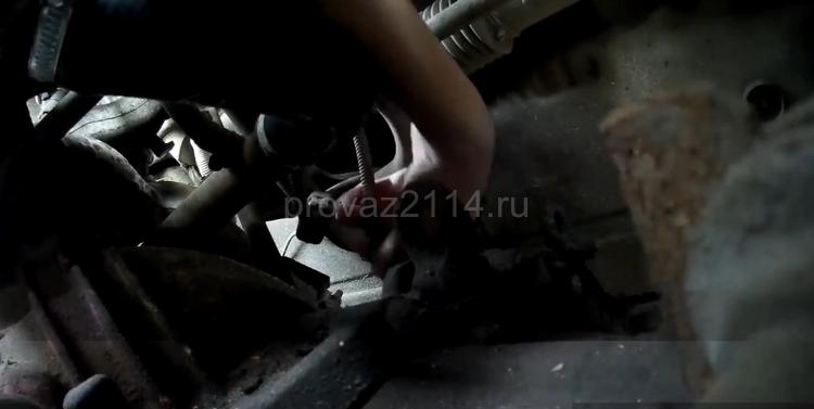 Как снять датчик скорости на ВАЗ 2114 8