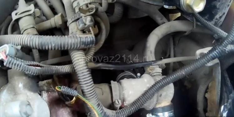 Как снять датчик скорости на ВАЗ 2114 9