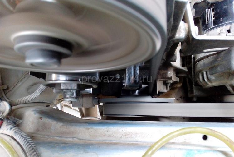 Процесс по замене водяного насоса (помпы) 3