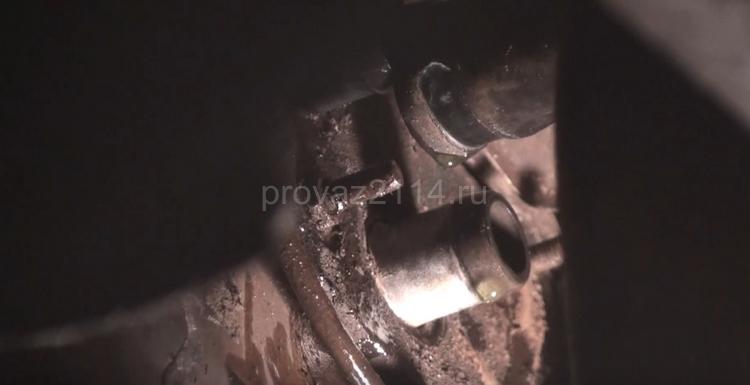 Ремонт краника печки на ваз 2114 10