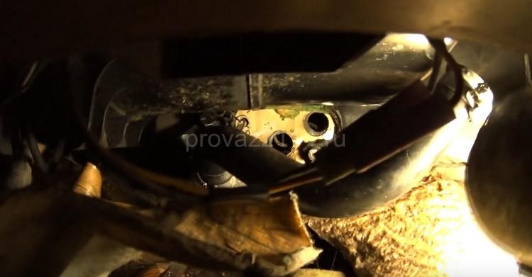 Ремонт краника печки на ваз 2114 15