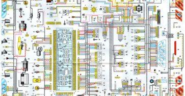 Схема электро проводки на ваз 2114