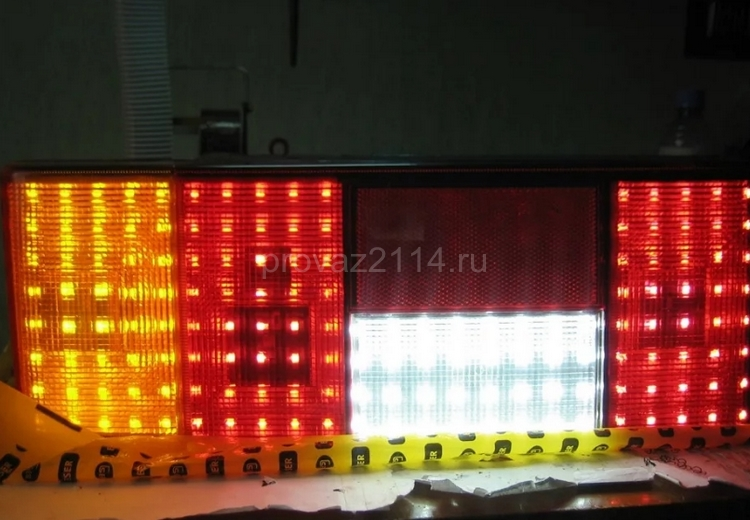 Установка светодиодов 2
