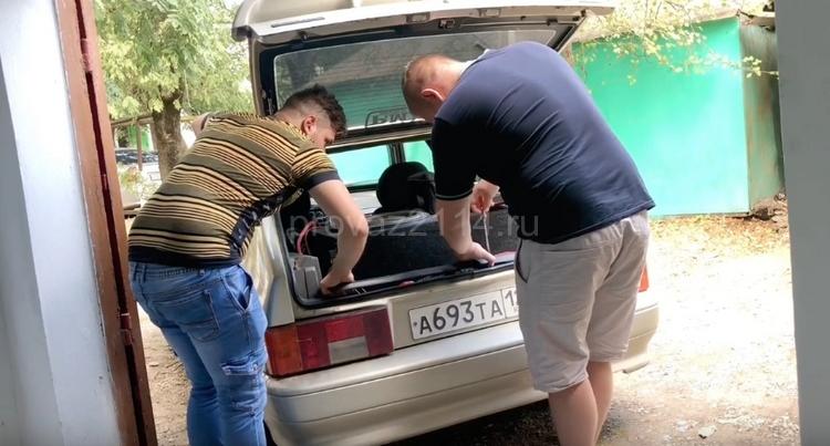 Замена задних фар ВАЗ 2114 2