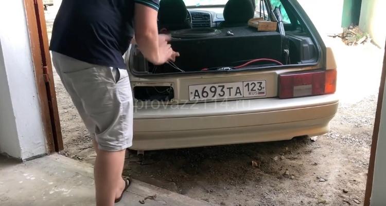 Замена задних фар ВАЗ 2114 4