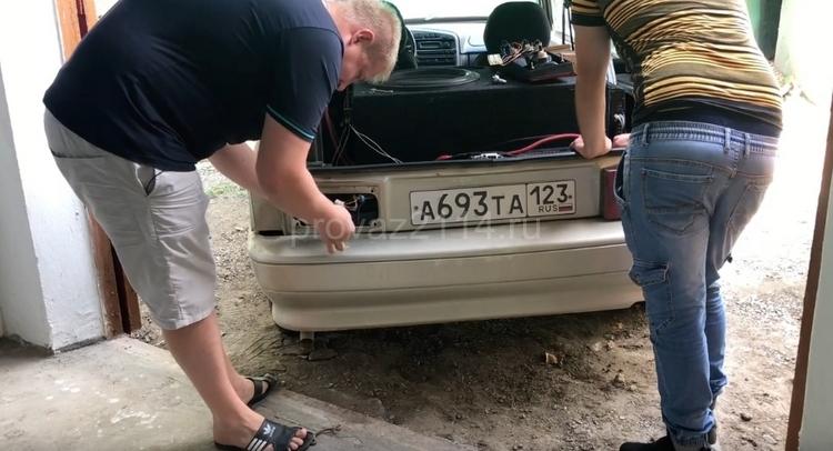 Замена задних фар ВАЗ 2114 5
