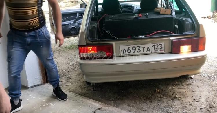 Замена задних фар ВАЗ 2114 7