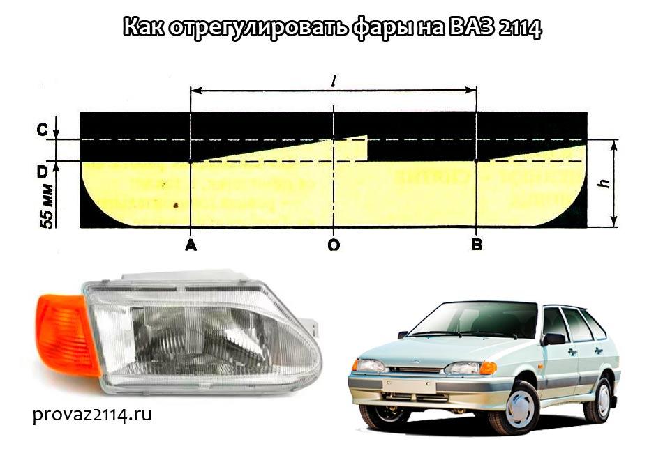 Как-отрегулировать-фары-на-ВАЗ-2114