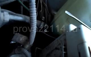 Порядок замены на ваз 2114 датчика температуры охлаждающей жидкости 11