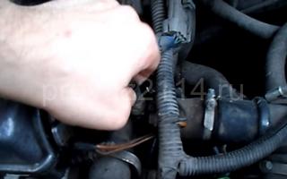 Порядок замены на ваз 2114 датчика температуры охлаждающей жидкости 12