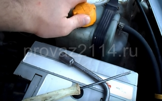 Порядок замены на ваз 2114 датчика температуры охлаждающей жидкости 7