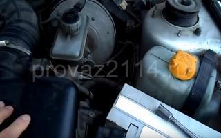 Порядок замены на ваз 2114 датчика температуры охлаждающей жидкости 8