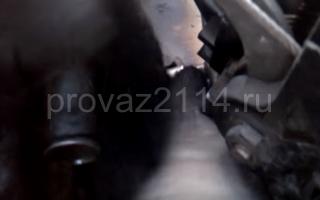 Последовательность снятия форсунок на ваз 2114 7
