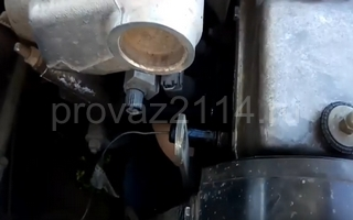 Замена датчика ваз 2114 1