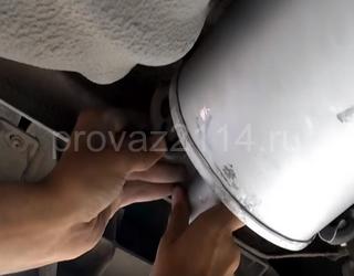 Замена глушителя ваз 2114 своими руками 17