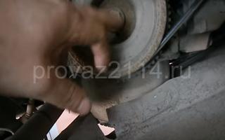 Замена ремня ГРМ на ВАЗ 2114 4