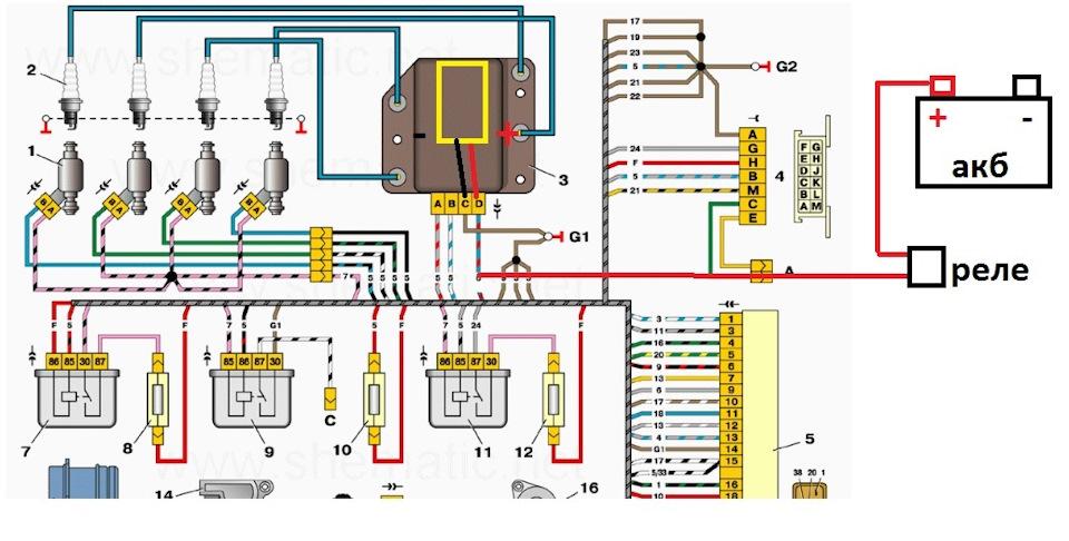 Электрика система зажигания на ваз 2114
