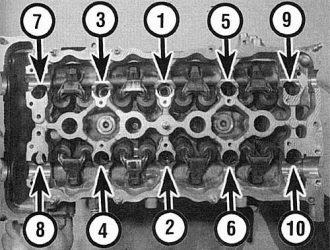 Какой момент затяжки гбц ваз 2114 8 клапанов – схема затяжки